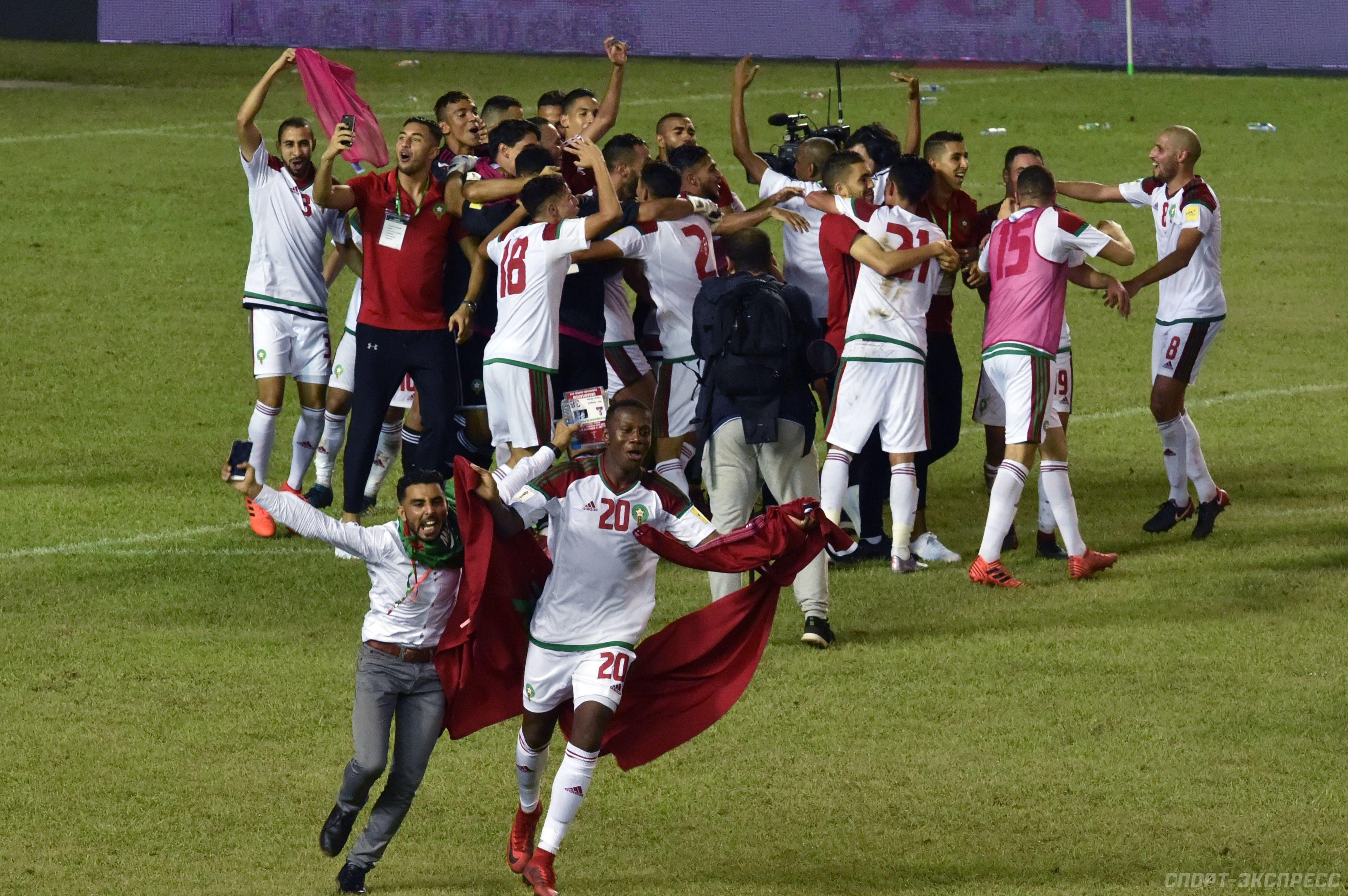 Посмотрите - Сборная марокко по футболу видео