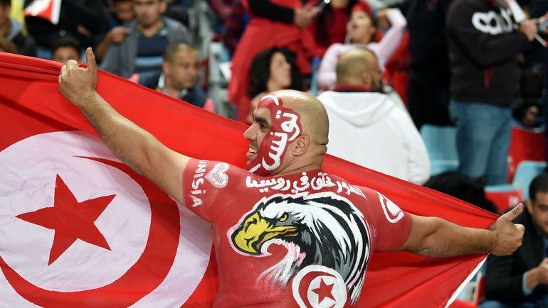 Болельщик сборной Туниса. Фото AFP