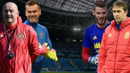 Россия и Испания готовятся к матчу.