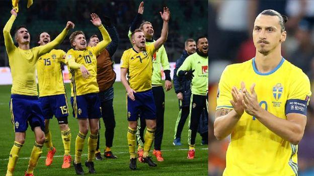 Швеция - на ЧМ-2018. А Златан?