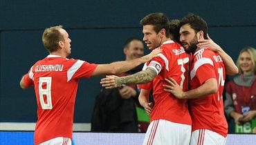 Смолову - 8,0 за дубль в ворота Испании