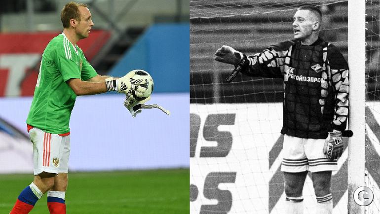 Денис ГЛУШАКОВ и Андрей ТИХОНОВ - вратари.