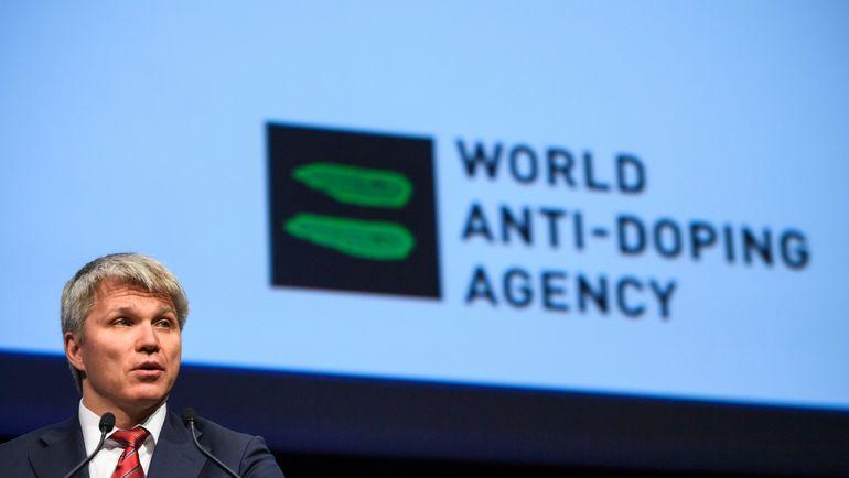 Министр спорта РФ Павел КОЛОБКОВ. Фото AFP