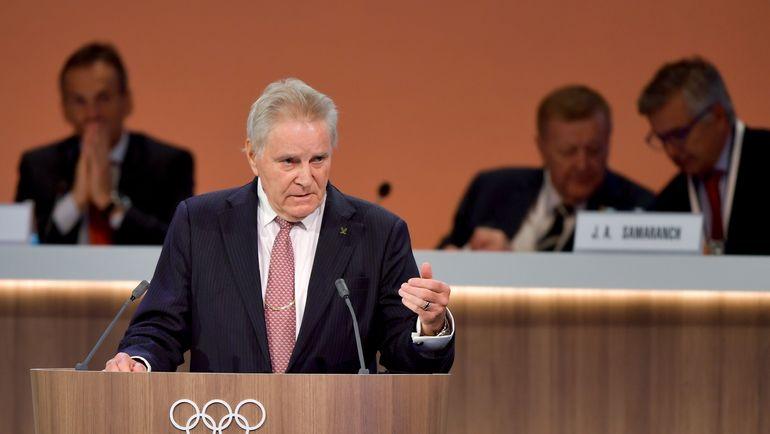 Руководитель комиссии МОК Дэнис ОСВАЛЬД. Фото AFP