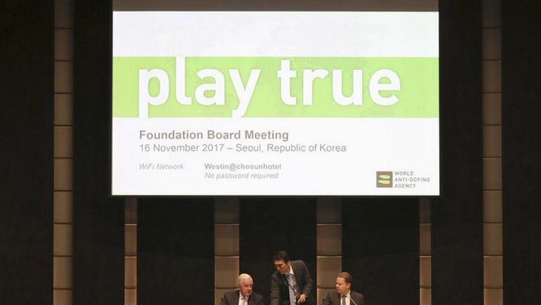 Сегодня. Сеул. Заседание совета учредителей ВАДА. Фото AP Photo