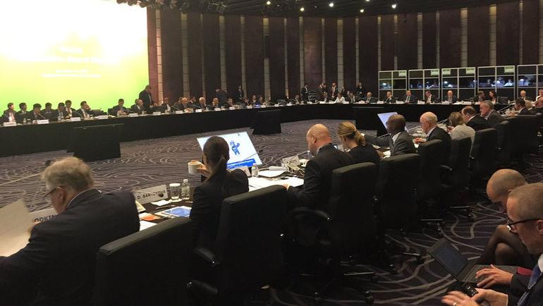 Сегодня. Сеул. Заседание совета учредителей ВАДА. Фото Twitter