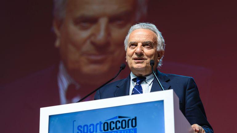 Президент Ассоциации летних олимпийских видов спорта, член Совета учредителей ВАДА Франческо РИЧЧИ БИТТИ. Фото AFP