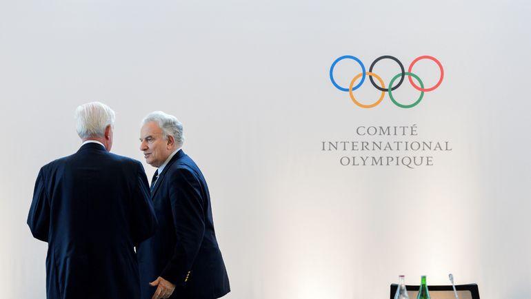 Президент ВАДА Крэйг РИДИ (слева) и Франческо РИЧЧИ БИТТИ. Фото AFP