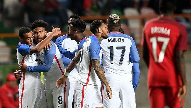 В США хотят провести альтернативный чемпионат мира. У сборной это страны появится хоть один повод для радости в 2018 году. Фото AFP