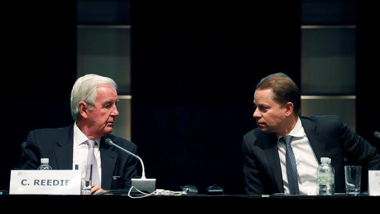 Президент ВАДА Крэйг РИДИ (слева) и Оливье НИГГЛИ. Фото Reuters