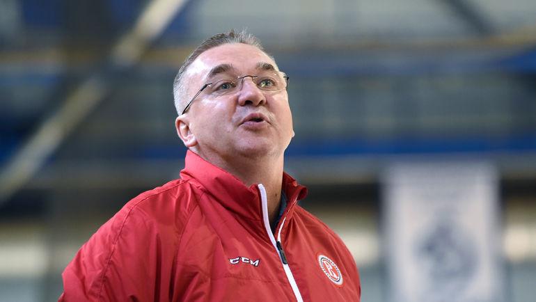 Валерий БЕЛОВ. Фото Владимир БЕЗЗУБОВ, photo.khl.ru