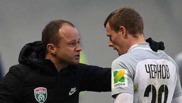 Евгений ЧЕРНОВ (справа) и Дмитрий ПАРФЕНОВ. Фото Александр ФЕДОРОВ, «СЭ»