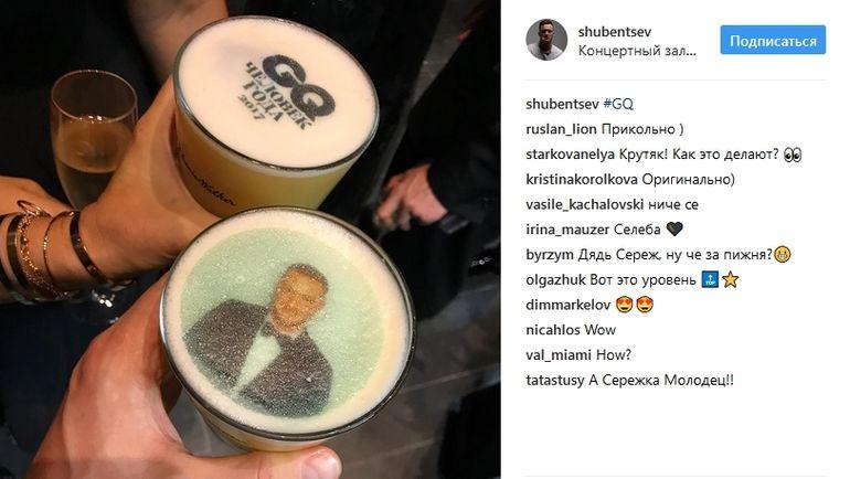 """Новые возможности фотобудки стали хитом на церемонии награждения GQ """"Человек года""""-2017."""