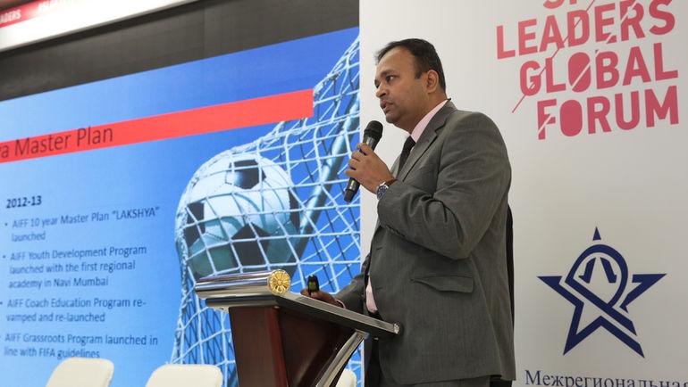 Генеральный директор I-League Сунандо ДХАР. Фото Ирина МОТИНА, Sport Leaders