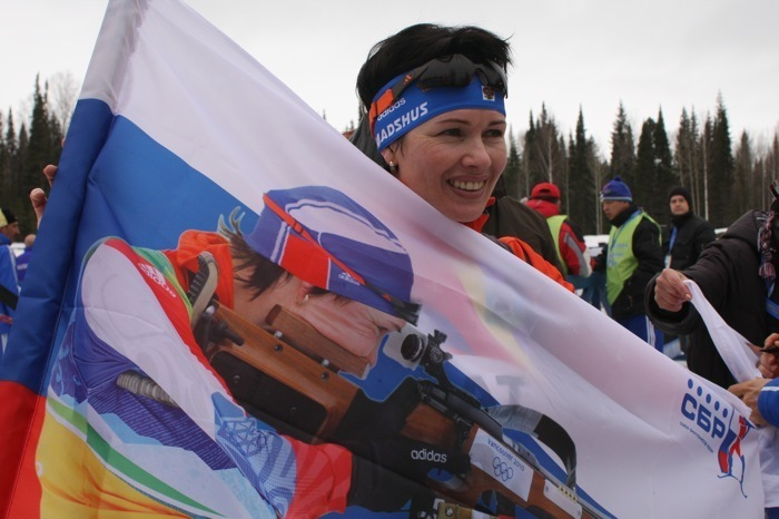 Ольга МЕДВЕДЦЕВА. Фото Союз биатлонистов России