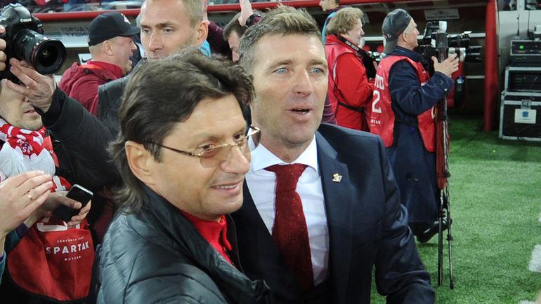 Леонид ФЕДУН (слева) и Массимо КАРРЕРА. Фото Алексей ИВАНОВ