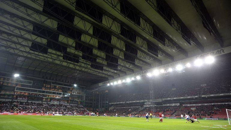 "Стадион ""Паркен"", на котором проводит домашние матчи ""Копенгаген"". Фото AFP"