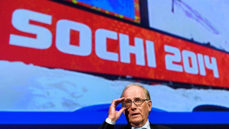 Ричард МАКЛАРЕН на основании данных Григория Родченкова поставил под сомнения почти все успехи россиян в Сочи-2014. Фото AFP
