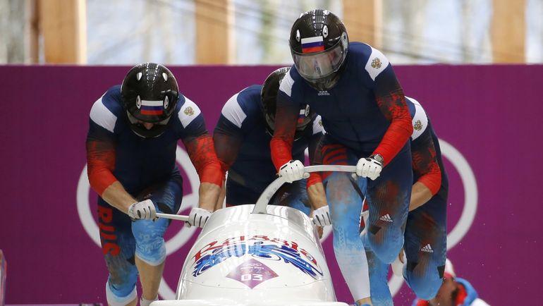 Александр ЗУБКОВ, а вместе с ним и сборная России, лишились золота Сочи-2014 в соревновании двоек и четверок. Фото REUTERS