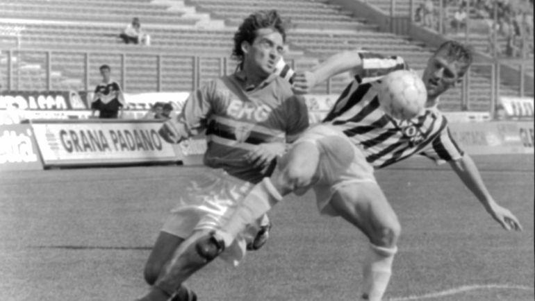 1995 год. Роберто МАНЧИНИ против Массимо КАРРЕРЫ.