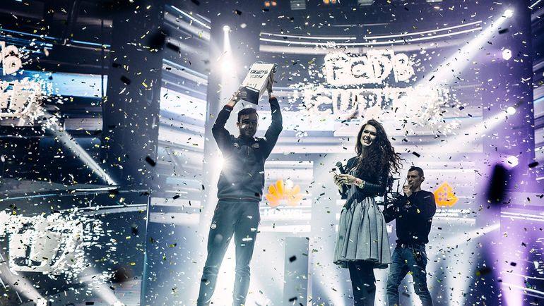 "Али Риза ""II_Bruma_II"" Айгюн - победитель FCDB CUP 2017. Фото Белорусская Федерация Киберспорта"
