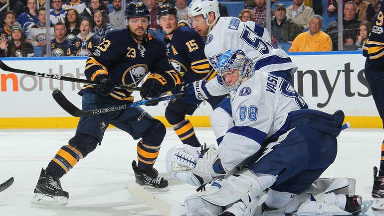 "Вторник. Баффало. ""Баффало"" – ""Тампа-Бэй"" – 0:2. Андрей ВАСИЛЕВСКИЙ (№88). Фото NHL.com"