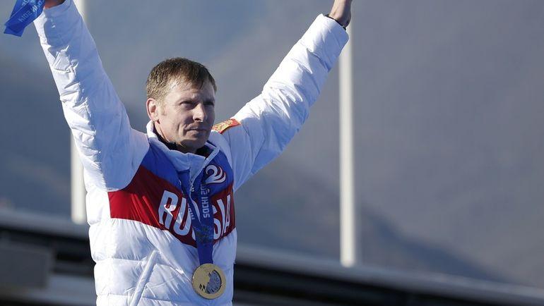 2014 год. Александр ЗУБКОВ - двукратный чемпион Игр в Сочи. Фото REUTERS