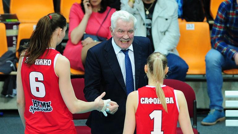 Николай КАРПОЛЬ (в центре). Фото Никита УСПЕНСКИЙ, «СЭ»