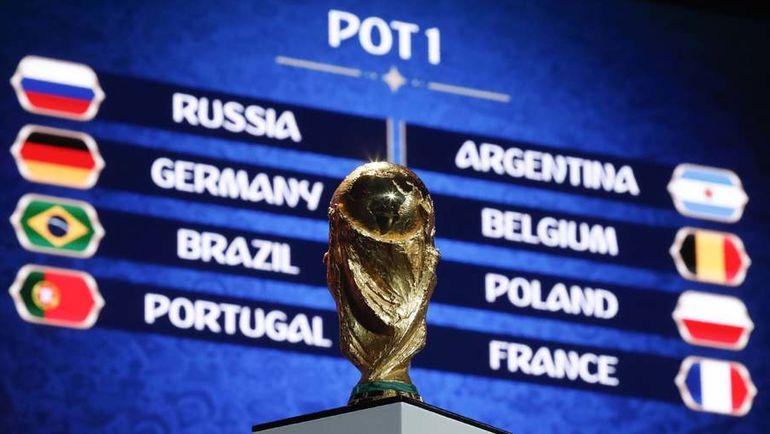 Кубок мира. Фото REUTERS