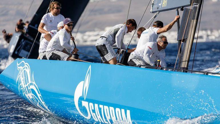 Яхт-клуб Санкт-Петербурга закрывает сезон.