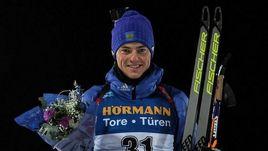 Сегодня. Эстерсунд. Антон БАБИКОВ стал пятым в индивидуальной гонке.