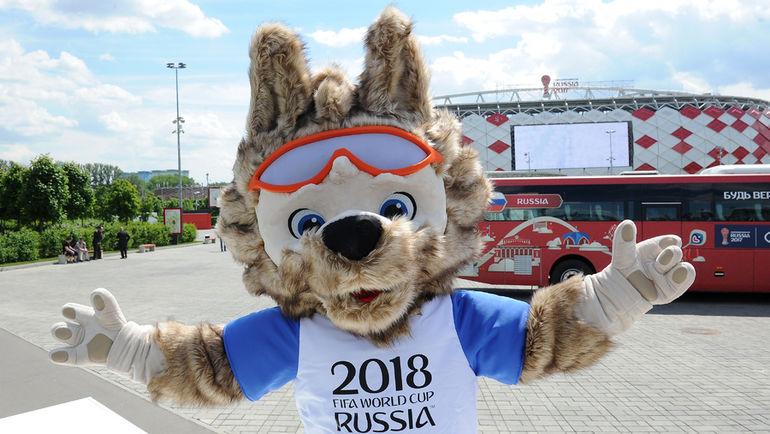 Талисман чемпионата мира-2018 - Забивака. Фото Алексей ИВАНОВ