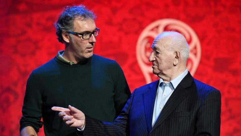 Никита СИМОНЯН (справа) и Лоран БЛАН. Фото AFP