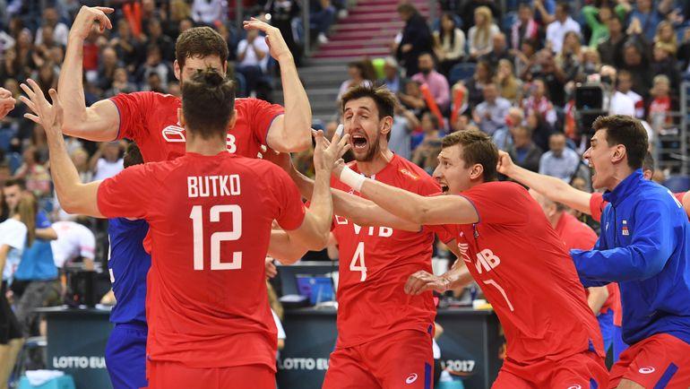 3 сентября. Краков. Российская сборная приедет на чемпионат мира в качестве чемпионов Европы. Фото AFP