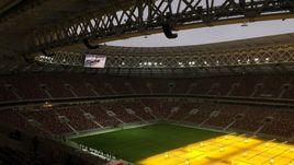 """Сегодня. Москва. Стадион """"Лужники""""."""