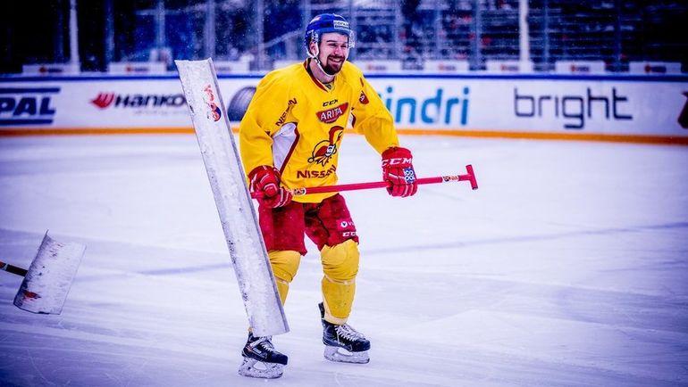 """Матч со СКА пройдет на временной арене в центре Хельсинки. Фото ХК """"Йокерит"""""""