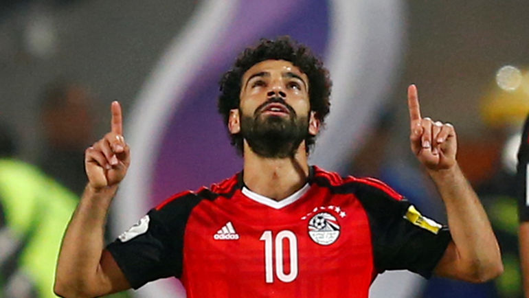 Мохамед САЛАХ - главная звезда сборной Египта. Фото REUTERS