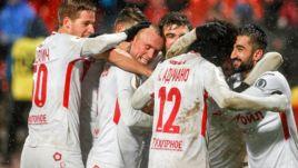 """Сегодня. Тула. """"Арсенал"""" - """"Спартак"""" - 0:1. Красно-белые вырвали победу в самой концовке игры."""
