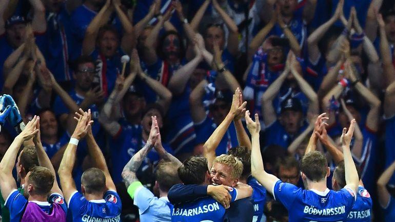 Исландия - одно из открытий чемпионата Европы-2016. Фото AFP