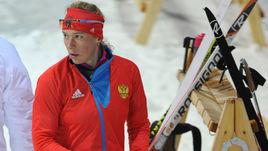 Февраль 2014 года. Сочи. Ольга ЗАЙЦЕВА на Олимпийских играх.