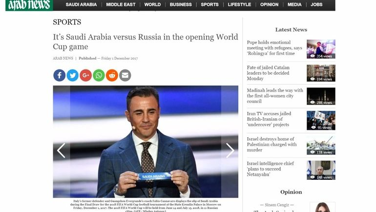 Arab News.