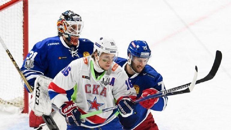 """Сегодня. Хельсинки. """"Йокерит"""" - СКА - 3:4. Питерские хоккеисты выиграли в зимней классике. Фото Официальный Твиттер ХК СКА"""