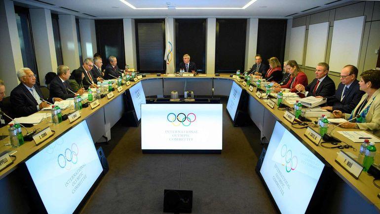 Вчера. Лозанна. Заседание исполкома МОК. Фото AFP