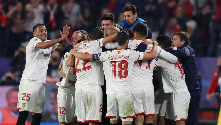 """""""Севилья"""" может выйти в плей-офф Лиги чемпионов, даже проиграв в Словении. Фото REUTERS"""