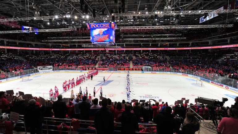 """Исполнят ли российские хоккеисты гимн своей страны на Играх? Фото Александр ФЕДОРОВ, """"СЭ"""""""