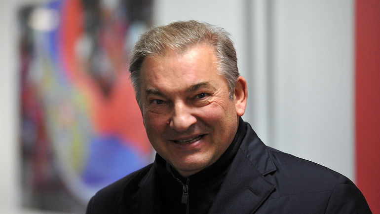 Президент ФХР Владислав ТРЕТЬЯК. Фото Алексей ИВАНОВ