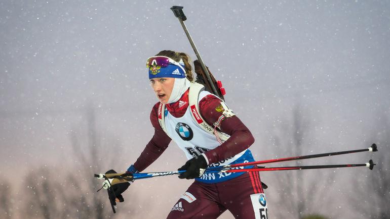 Светлана МИРОНОВА финишировала девятой. Фото Андрей АНОСОВ, СБР