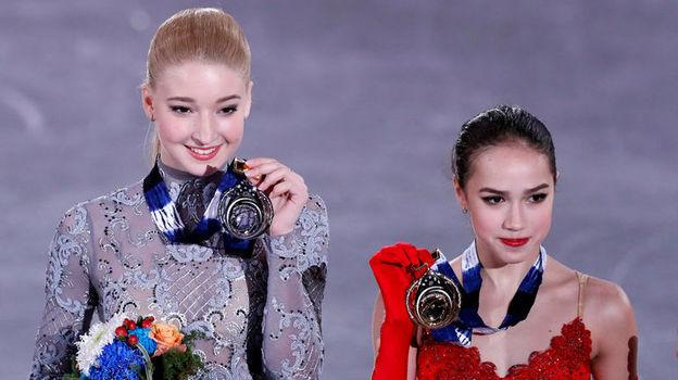 Загитова и Сотскова зажгли в финале