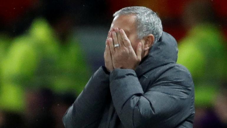 "Вчера. Манчестер. ""Манчестер Юнайтед"" - ""Манчестер Сити"" - 2:1. Жозе МОУРИНЬЮ."