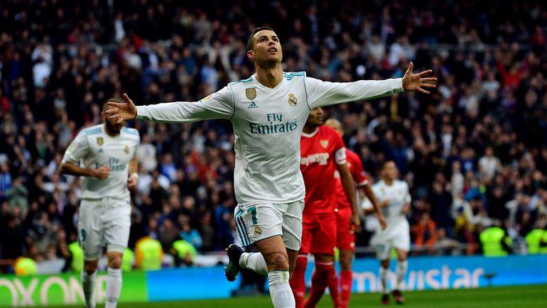 """Воскресенье. Мадрид. """"Реал"""" - """"Севилья"""" - 5:0. КРИШТИАНУ РОНАЛДУ. Фото AFP"""
